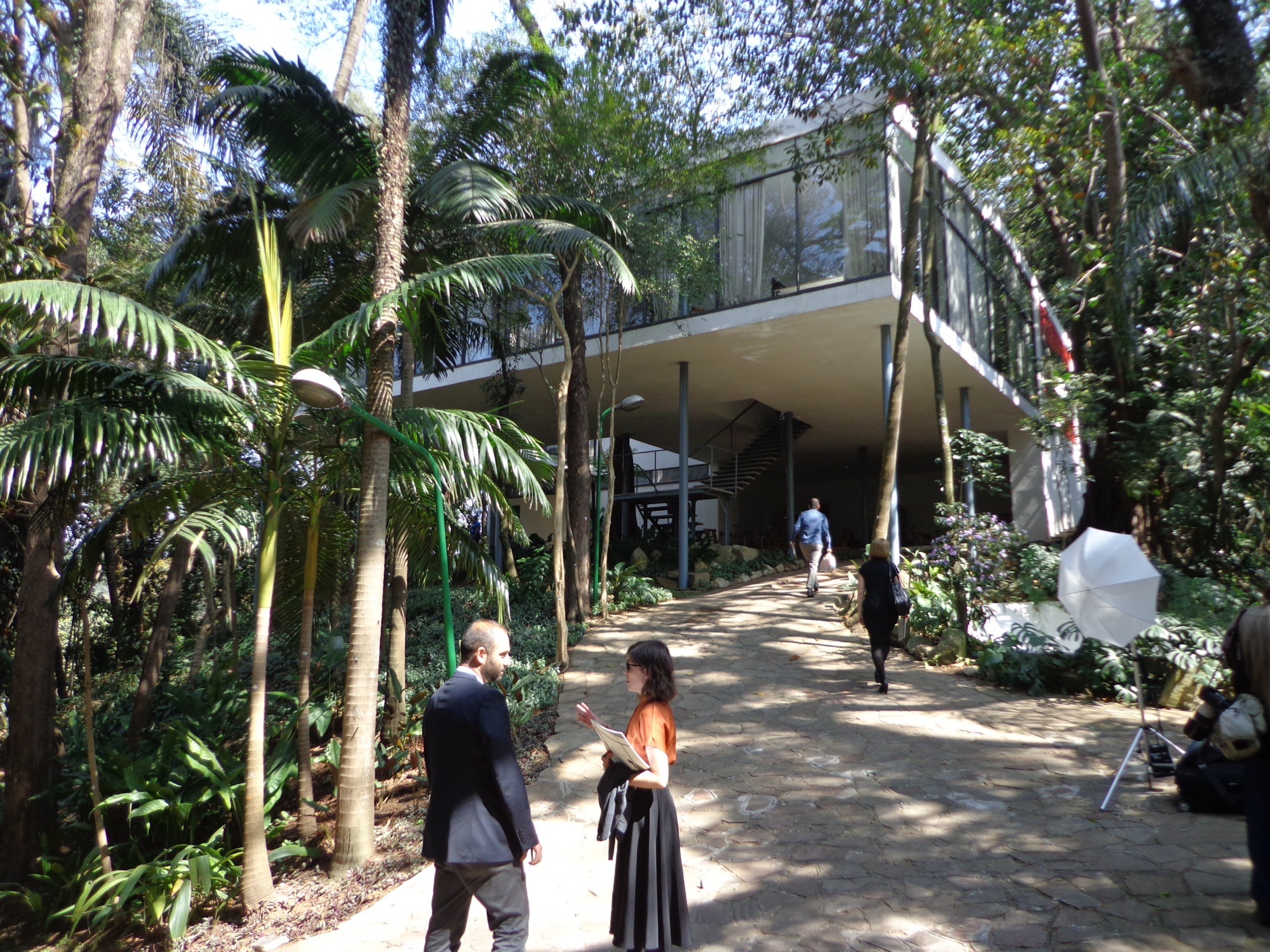 Claire rigby visits the stunning casa de vidro one of many modernist
