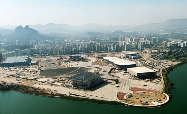 The Olympic Park in Barra, Rio de Janeiro